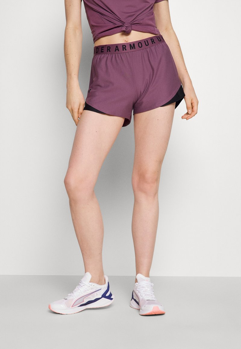 Under Armour - PLAY UP SHORTS 3.0 - Sports shorts - purple