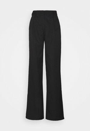 YASSERENA WIDE PANTS - Broek - black