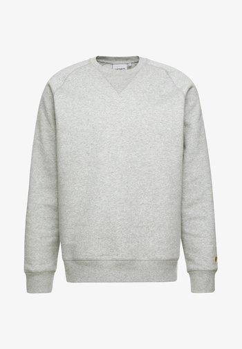 CHASE - Collegepaita - grey heather/gold