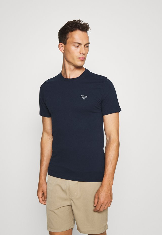 BEACON SMALL LOGO TEE - T-shirt basic - new navy