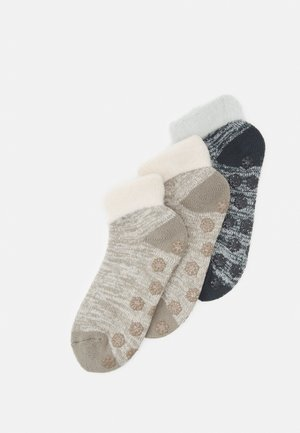 ONLINE WOMEN WARM UP ABS QUARTER 3 PACK - Socks - taupe