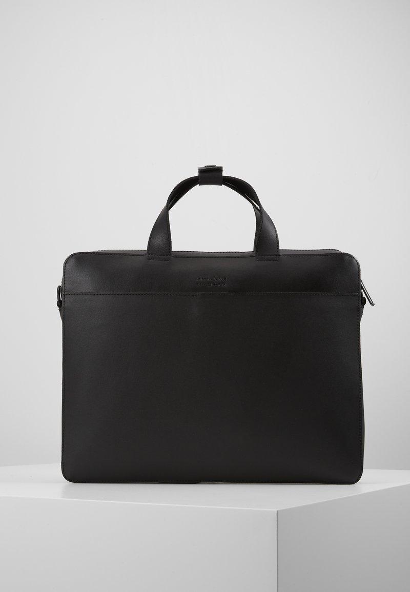 Zign - LEATHER - Taška na laptop - black