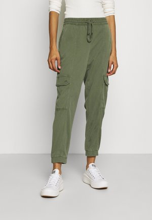 STRETCH UTILITY JOGGER - Trousers - khaki