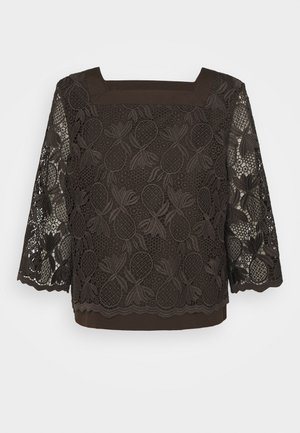 Blouse - enigmatic brown