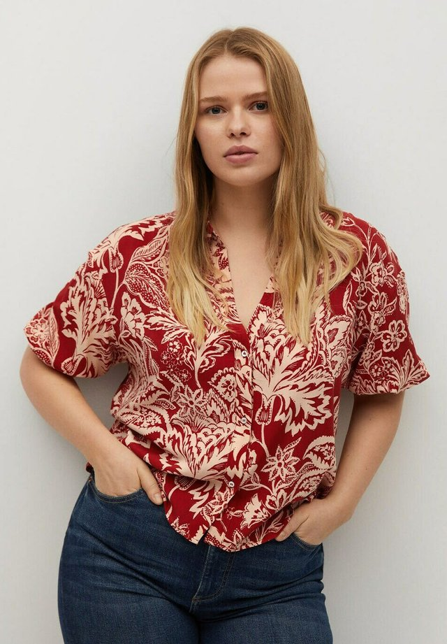 COLOMBIA - Button-down blouse - rot