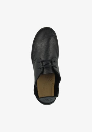SEVEN - Boat shoes - black leather