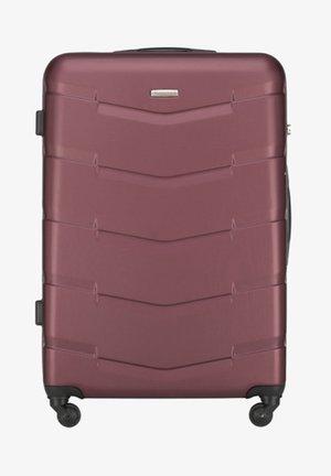 TRAVEL - Wheeled suitcase - burgund