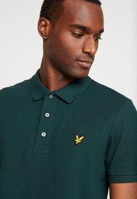 Lyle & Scott - SLIM FIT - Poloshirts - jade green - 4