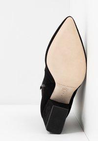 Loeffler Randall - ISLA SLIM WITH CHUNKY HEEL - High Heel Stiefelette - black - 6