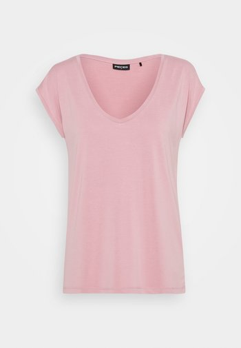 PCKAMALA TEE - Camiseta básica - zephyr