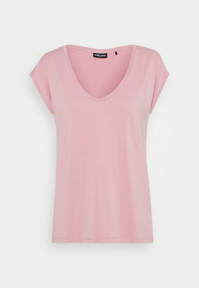 PCKAMALA TEE - T-shirt basic - zephyr
