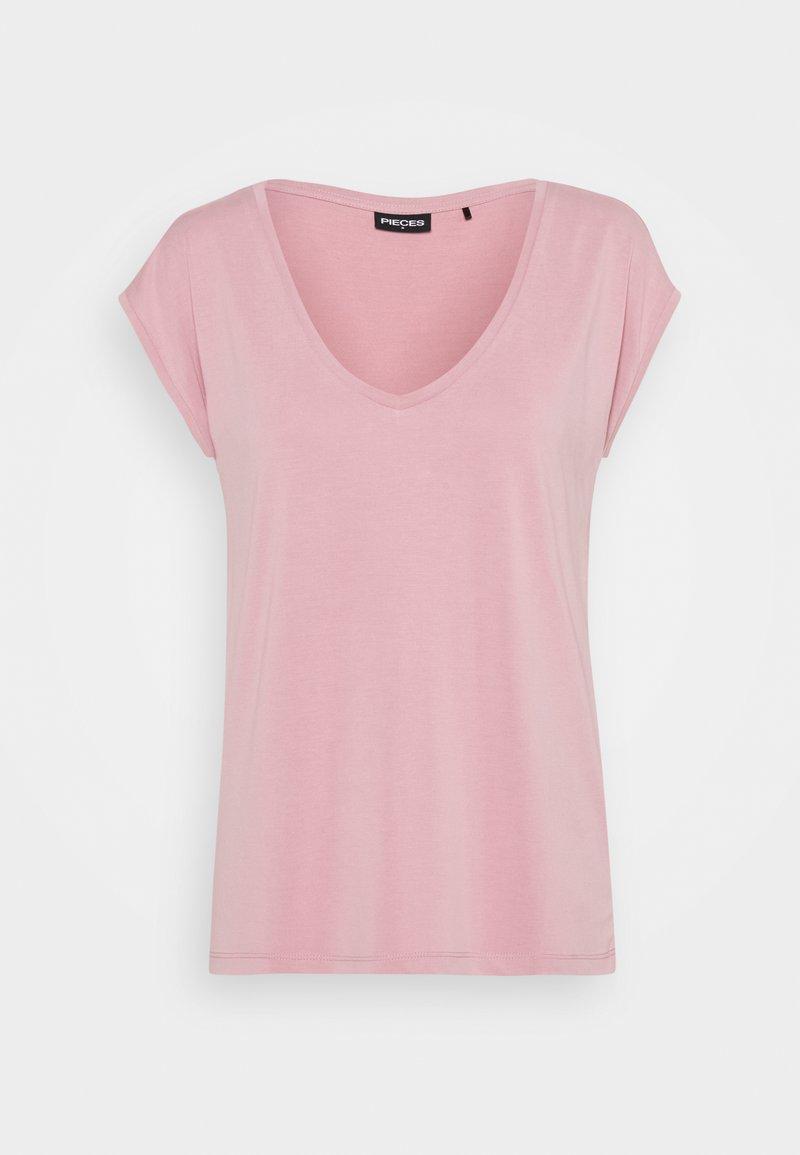 Pieces - PCKAMALA TEE - Basic T-shirt - zephyr