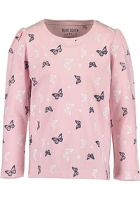 Blue Seven - COLOR YOUR LIFE - Long sleeved top - m02 - rosa aop + pink - 1