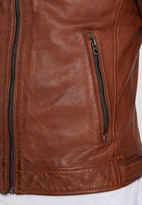 Gipsy - CAMREN LASYV - Leather jacket - cognac - 4