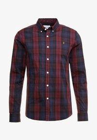 Farah - NEW BREWER CHECK - Shirt - red - 4