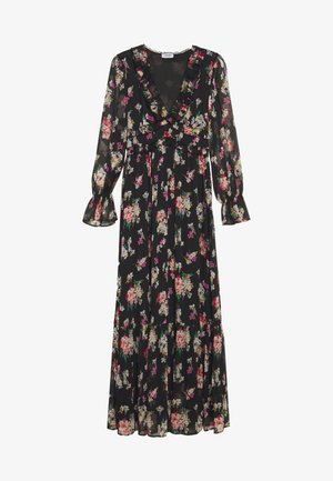 ABITO LUNGO - Robe longue - black/multicolor