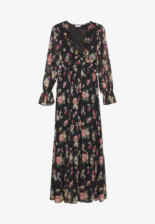 ABITO LUNGO - Maxi dress - black/multicolor