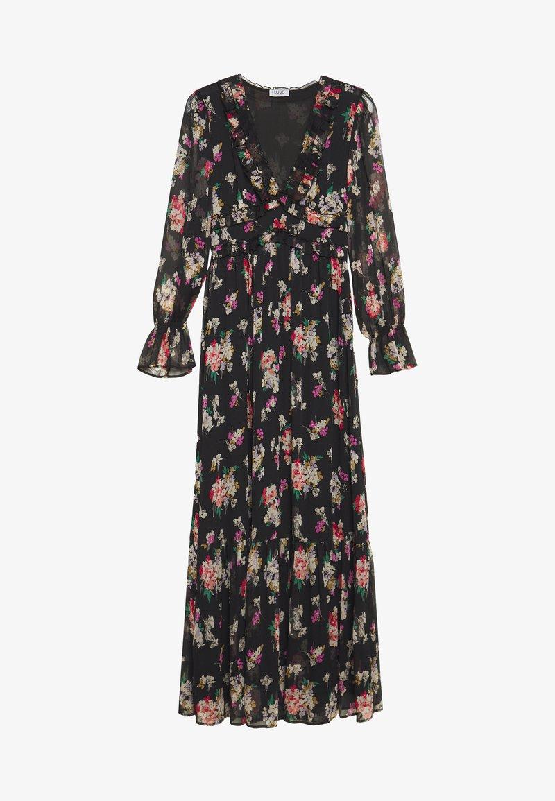Liu Jo Jeans - ABITO LUNGO - Maxi dress - black/multicolor