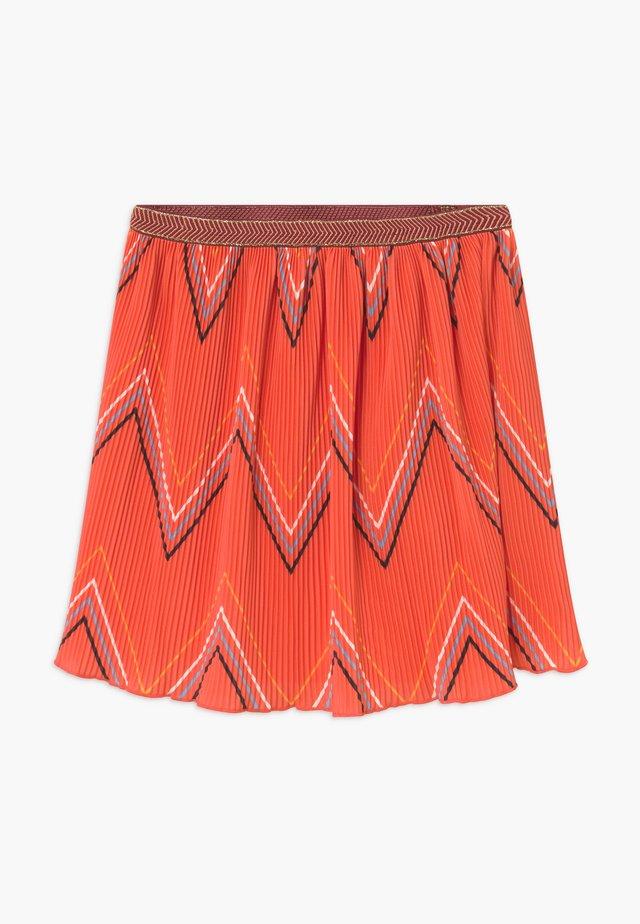 LOLITA - A-line skirt - nasturtium