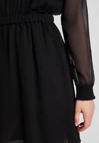 Pieces - PCAMALIE DRESS - Sukienka letnia - black - 3