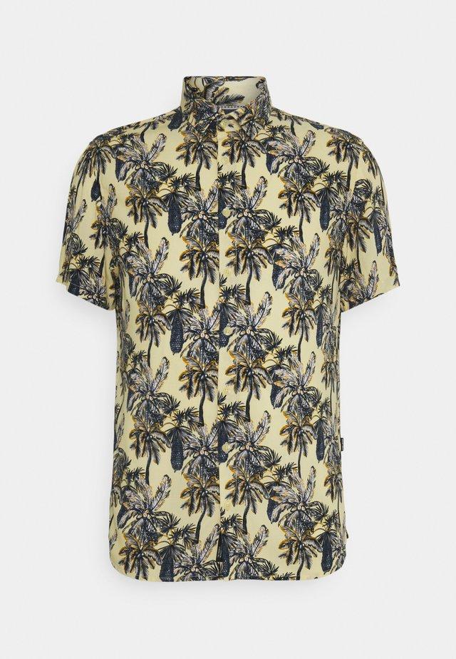 SHIRT - Skjorte - pale banana