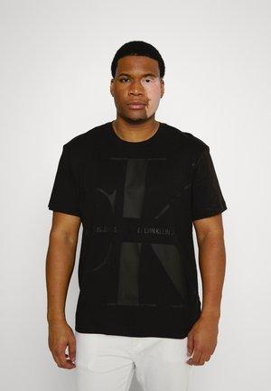 BOLD MONOGRAM TEE - Print T-shirt - black
