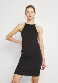 Vila - VIBE SINGLET DRESS 2 PACK - Vestido ligero - black/black/red/blue - 3