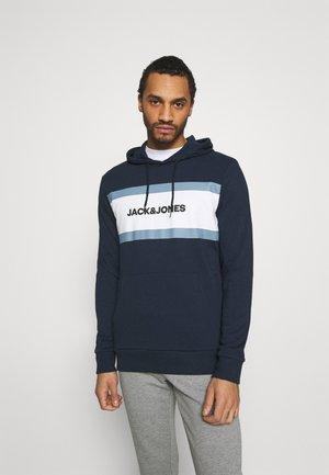 JJSHAKE HOOD - Sweatshirt - navy blazer