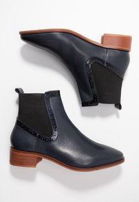 mint&berry - Classic ankle boots - dark blue - 3