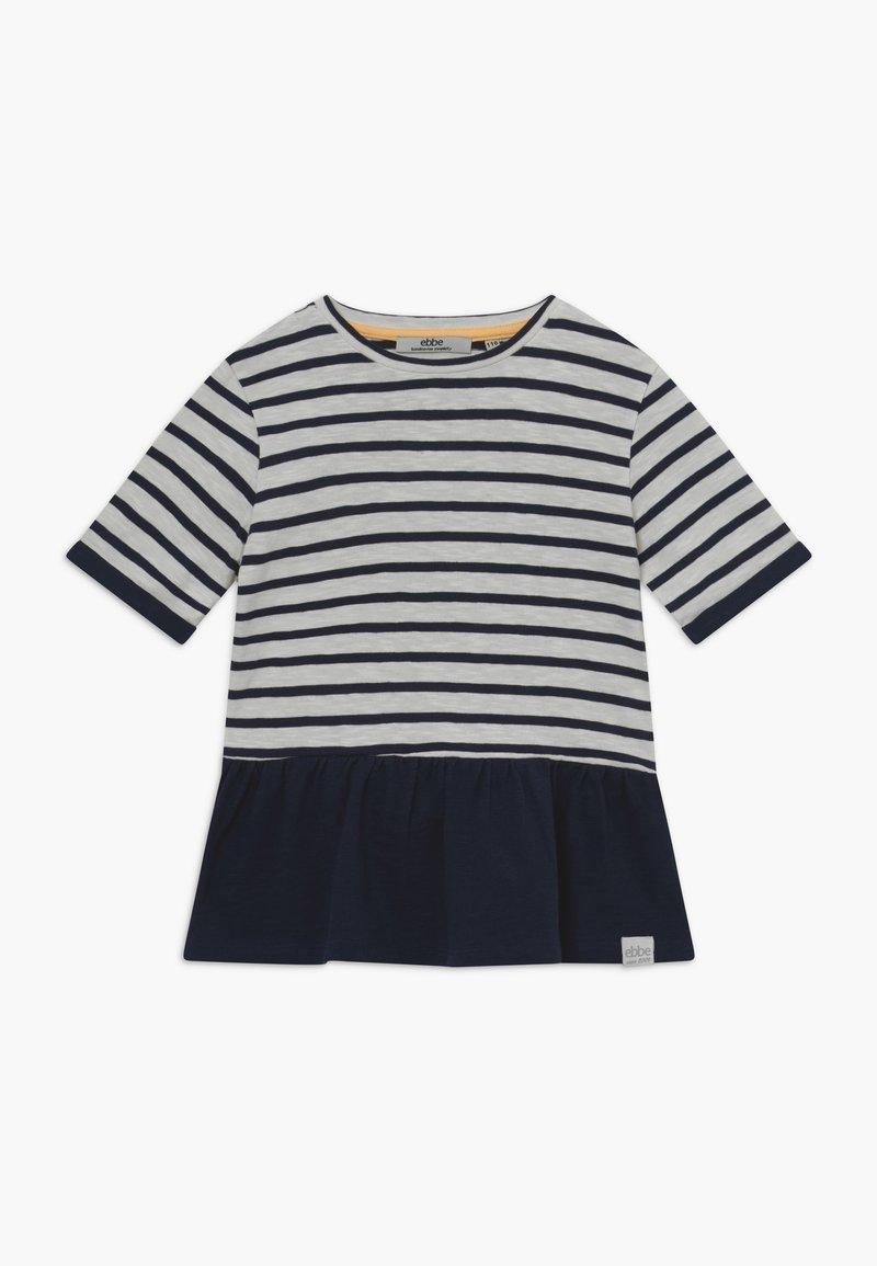 Ebbe - BENITA - T-shirt con stampa - offwhite/dark navy