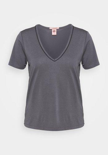 BASIC TEE  - Basic T-shirt - smoke blue