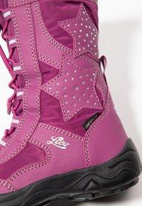 LICO - CATHRIN - Vinterstøvler - pink/silber - 2