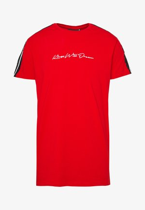 CAWDON - T-shirt con stampa - red