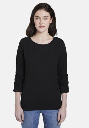 GEPUNKTETER - Sweatshirt - deep black