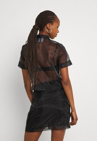 The Ragged Priest - CRYBABY SHIRT - Button-down blouse - black - 2