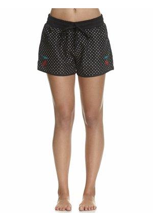 Swimming shorts - schwarz allover