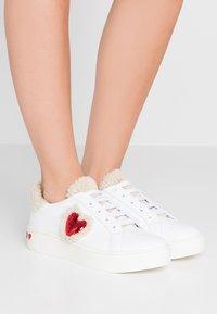 Love Moschino - Sneaker low - white - 0
