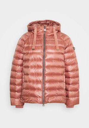 Down jacket - rose wood