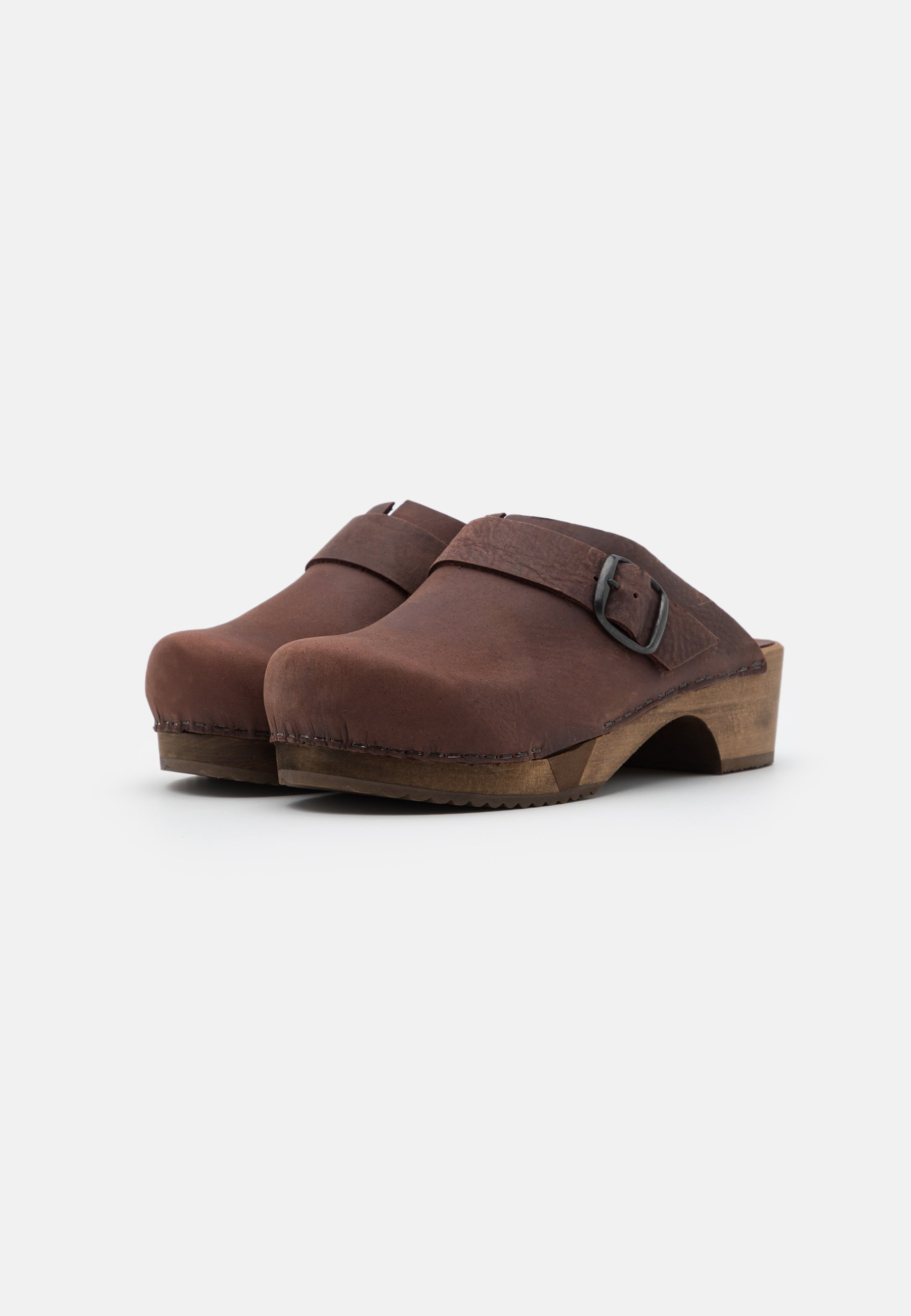 LILI OPEN Clogs antique brown