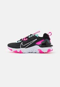 dark smoke grey/white/pink blast