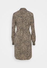 PIECES Tall - PCGILBERTA DRESS  - Shirt dress - black - 1