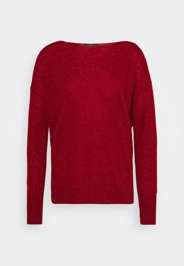 BOAT - Sweter - dark red