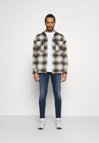 Redefined Rebel - LYON - Jeans Skinny Fit - dark denim - 1