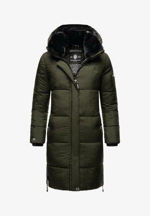 STRELIZIAA - Winter coat - dark olive