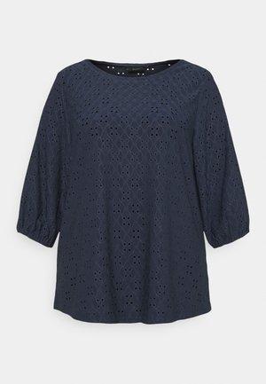 XNAOMI BLOUSE - Print T-shirt - mood indigo