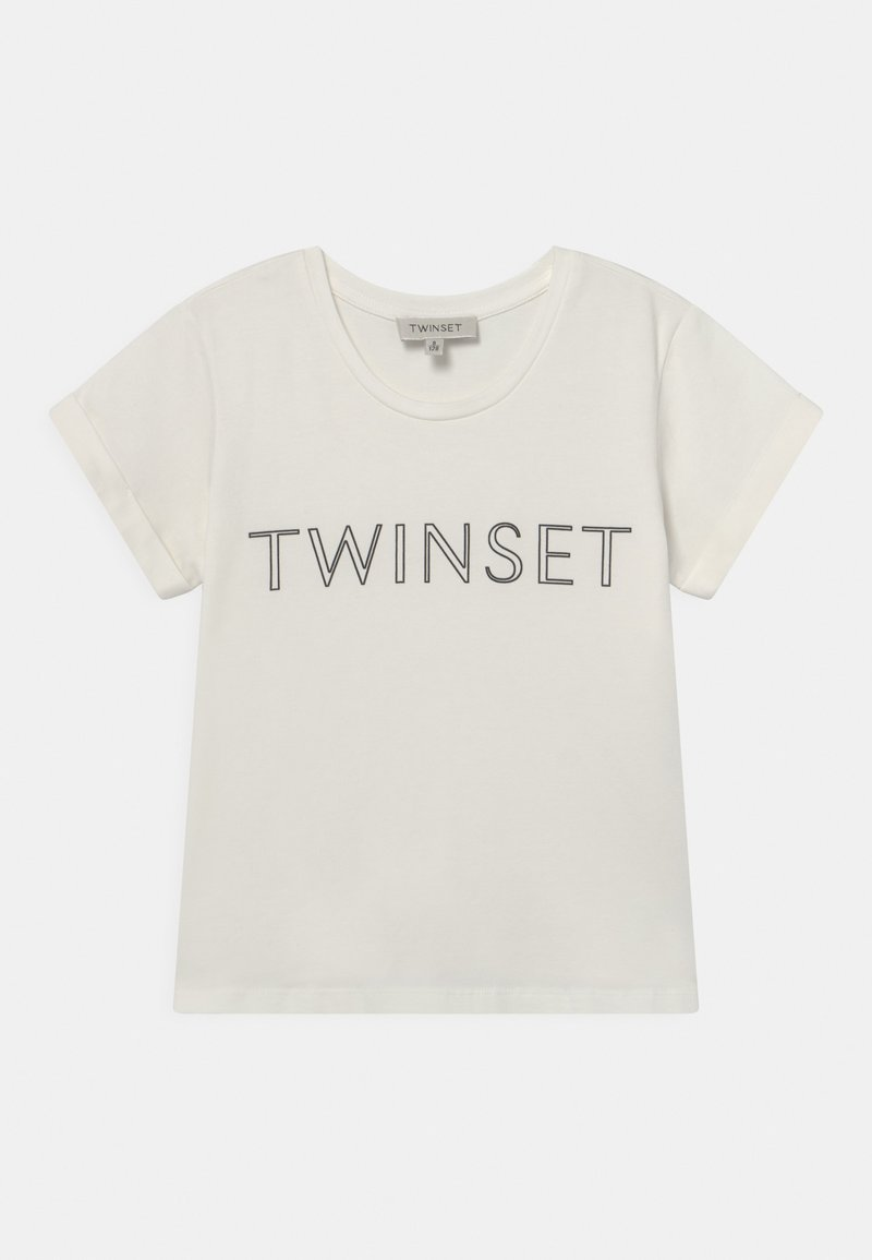 TWINSET - Print T-shirt - off white