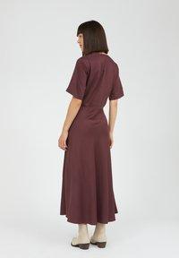ARMEDANGELS - ROSAMAARY - Maxi dress - aubergine - 2
