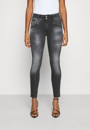 POWERC - Jeansy Skinny Fit - black