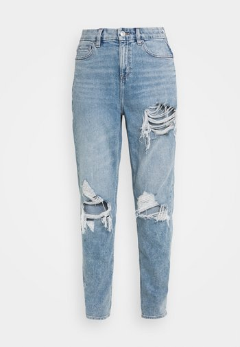 CURVY MOM JEANS - Jeans relaxed fit - blue breeze