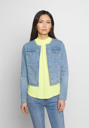 Denim jacket - middle blue denim